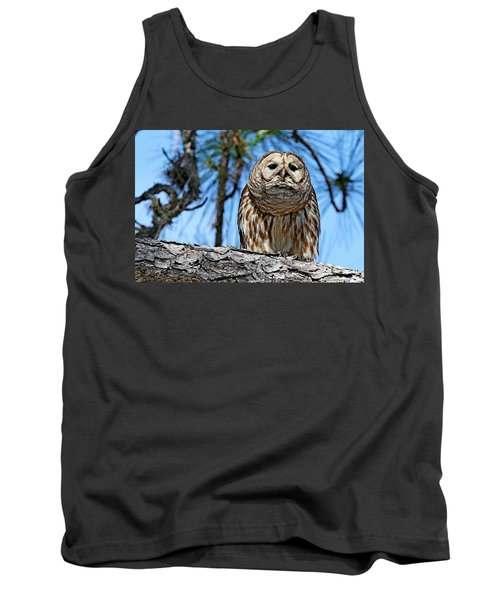 Wise Owl Tank Top