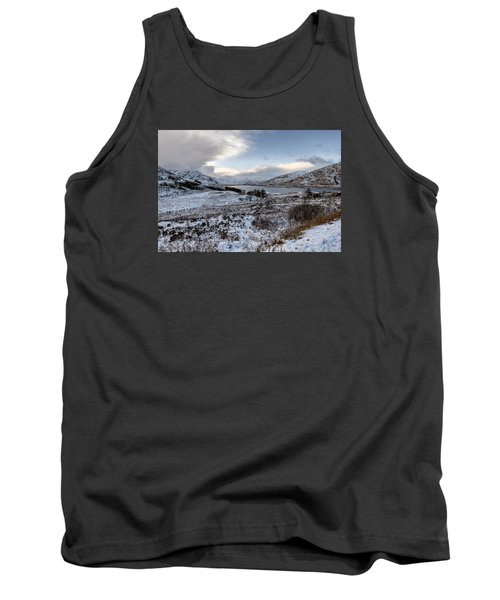 Trossachs Scenery In Scotland Tank Top