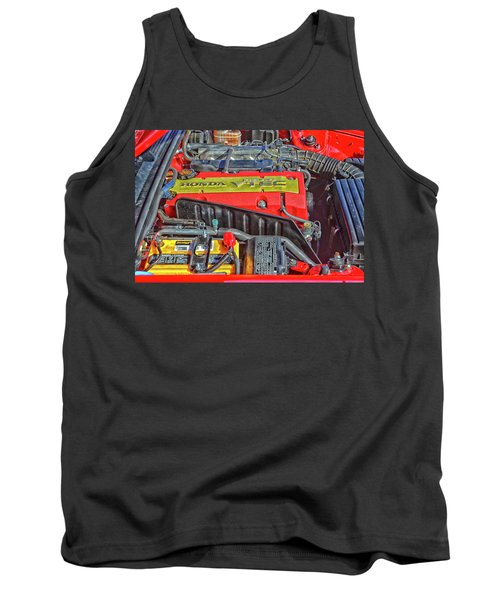 2006 Honda S2000 Engine Tank Top by Mike Martin