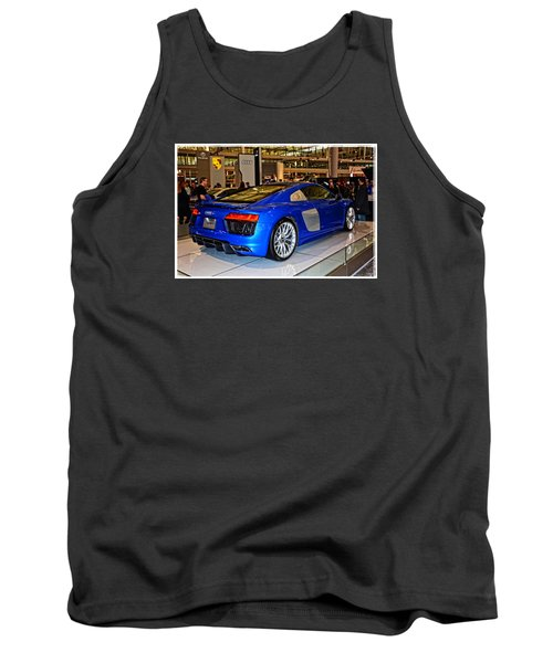 2016 Audi R8 Tank Top by Mike Martin