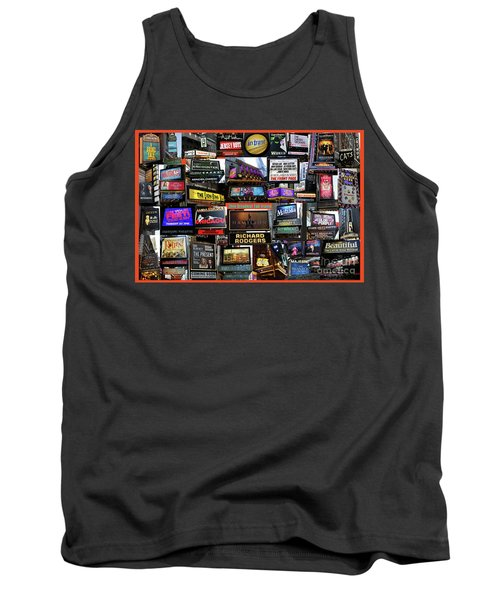 Tank Top featuring the photograph 2016 Broadway Fall Collage by Steven Spak