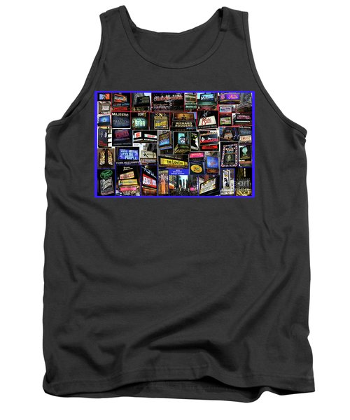2016 Broadway Spring Collage Tank Top by Steven Spak