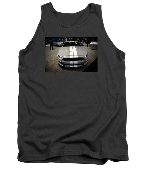 2016 Preproduction Ford Mustang Shelby Gt350 Tank Top by Mike Martin