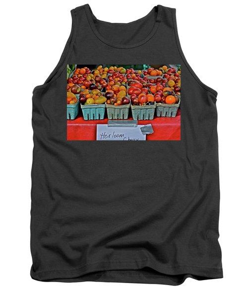 2017 Monona Farmers' Market August Heirloom Cherry Tomatoes Tank Top