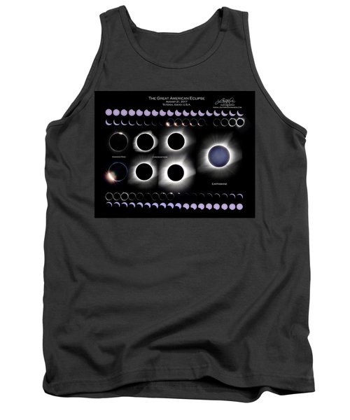 2017 Solar Eclipse Collage Tank Top
