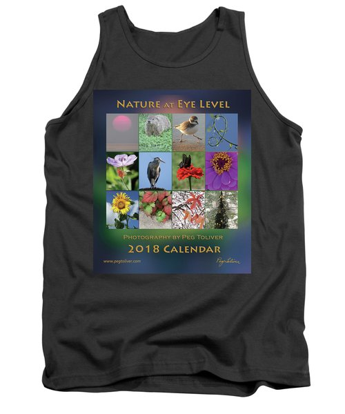 2018 Calendar Thumbprints Tank Top