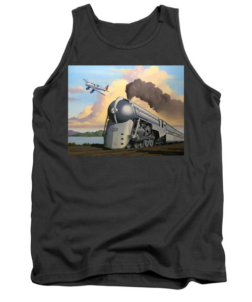 20th Century Limited And Plane Tank Top
