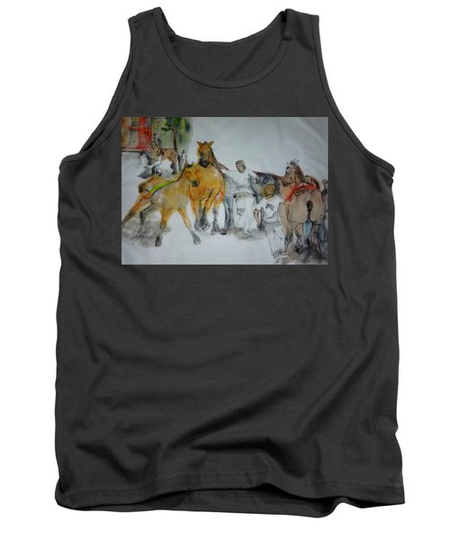 Of Clogs And Windmills Album Tank Top