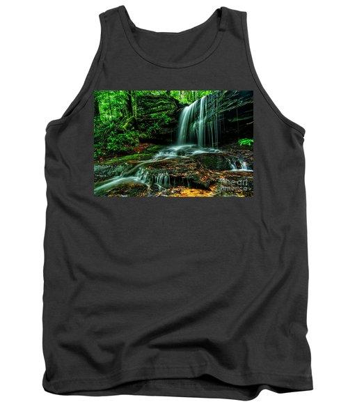 West Virginia Waterfall Tank Top