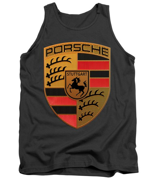 Porsche Label Tank Top