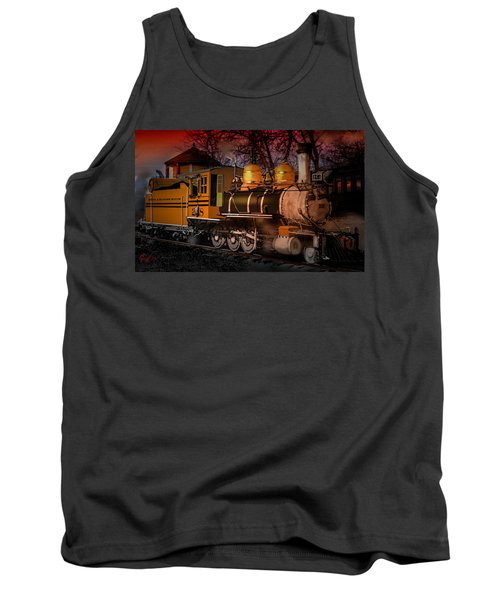 #268 Is Simmering Tank Top by J Griff Griffin