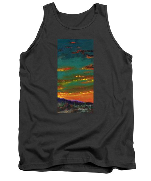2nd In A Triptych Tank Top by Frances Marino