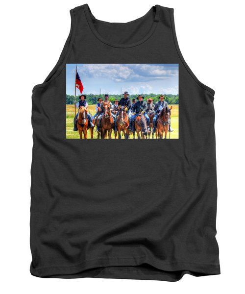 2nd Us Cavalry  Tank Top