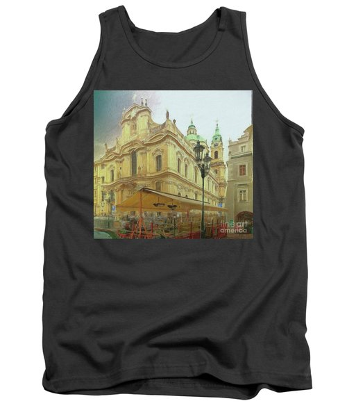 2nd Work Of St. Nicholas Church - Old Town Prague Tank Top