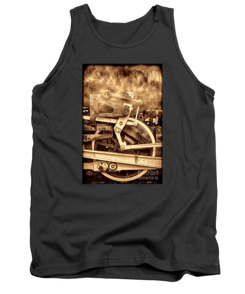 3 10 To Nowhere  Tank Top by American West Legend By Olivier Le Queinec