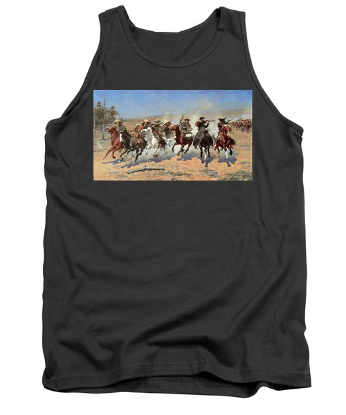 A Dash For The Timber Tank Top