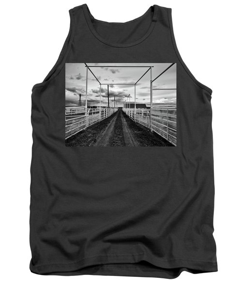 Empty Corrals Tank Top by L O C