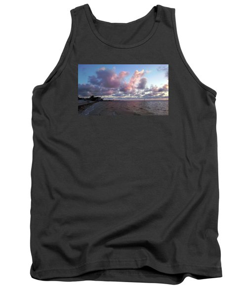 Tank Top featuring the photograph Florida Sunset by Vicky Tarcau