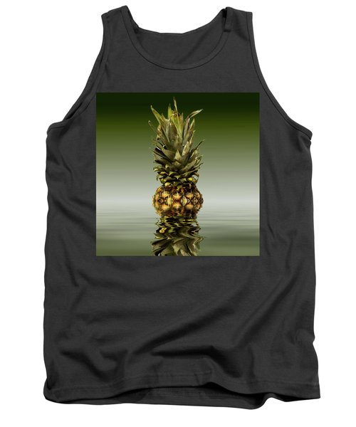 Tank Top featuring the photograph Fresh Ripe Pineapple Fruits by David French