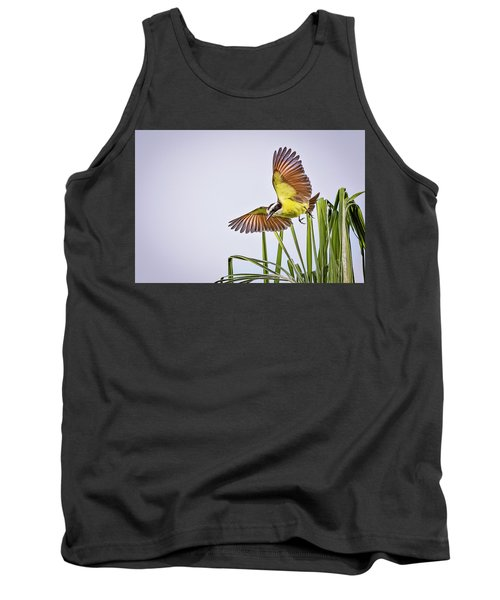 Great Crested Flycatcher Tank Top