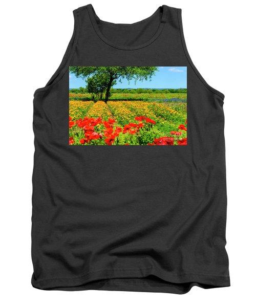 Hill Country In Bloom Tank Top