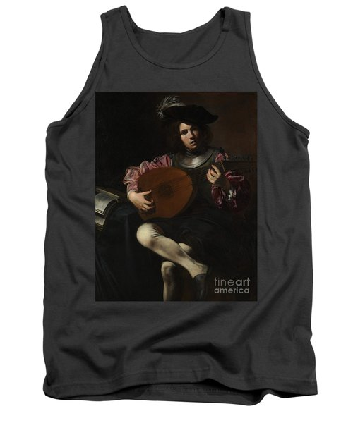 Lute Player Tank Top
