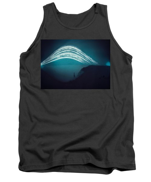3 Month Exposure At Beachy Head Lighthouse Tank Top