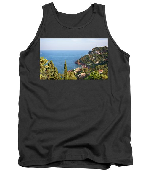 French Mediterranean Coastline Tank Top