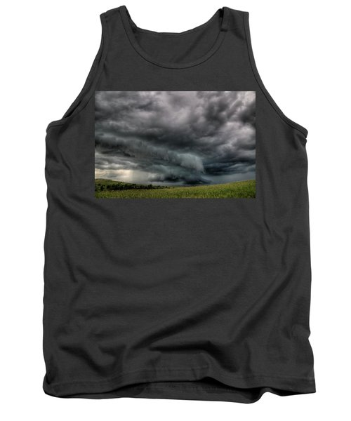 North Dakota Thunderstorm Tank Top