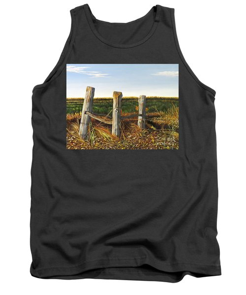 3 Old Posts Tank Top