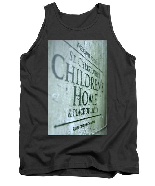 Orphanage Signage Tank Top