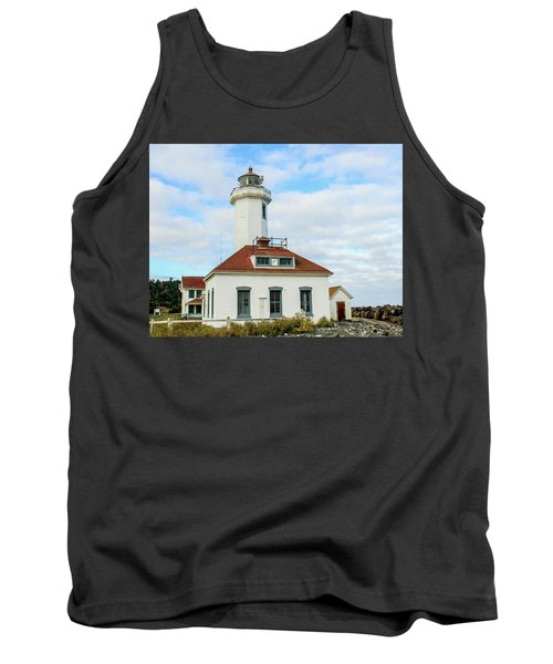 Point Wilson Lighthouse Tank Top