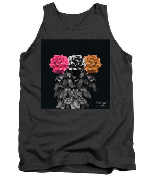 3 Roses Tank Top