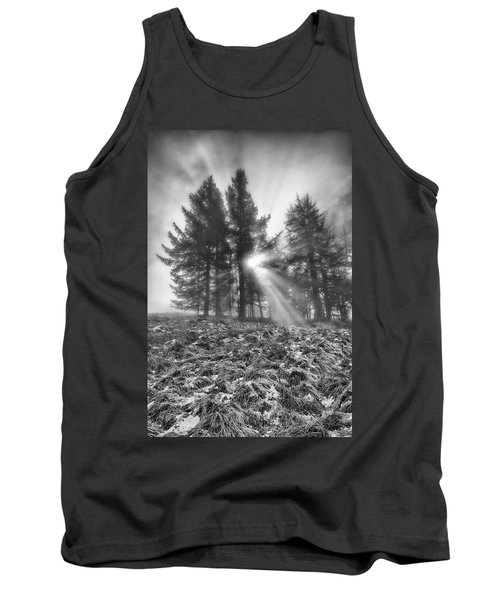 Tank Top featuring the photograph Scottish Sunrise by Jeremy Lavender Photography