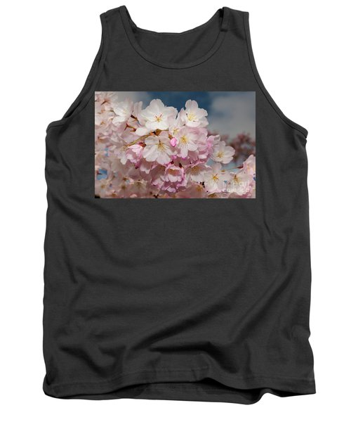 Silicon Valley Cherry Blossoms Tank Top