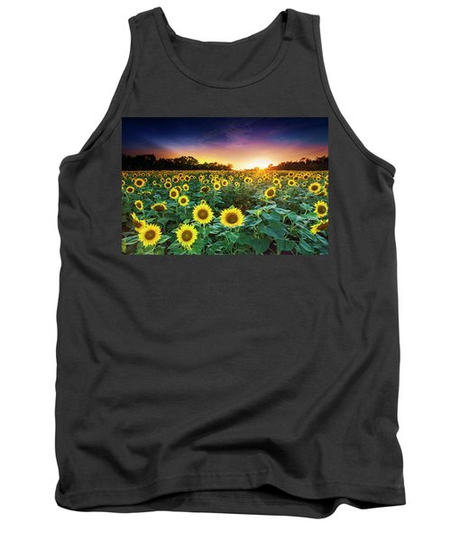 Tank Top featuring the photograph 3 Suns by Edward Kreis
