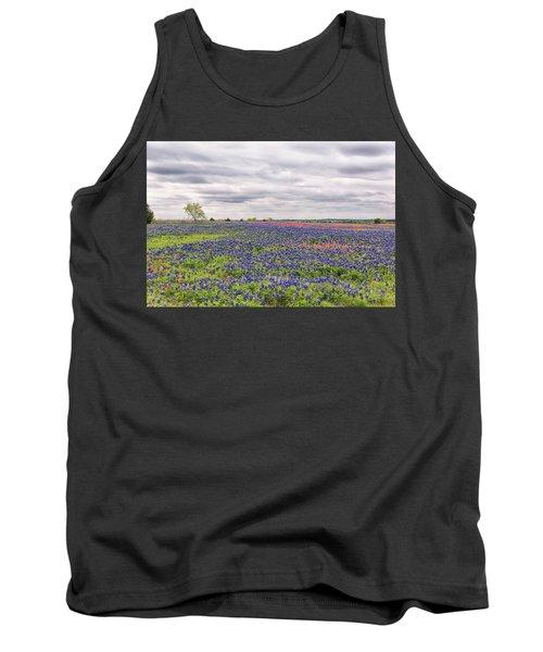 Texas Wildflowers 2 Tank Top