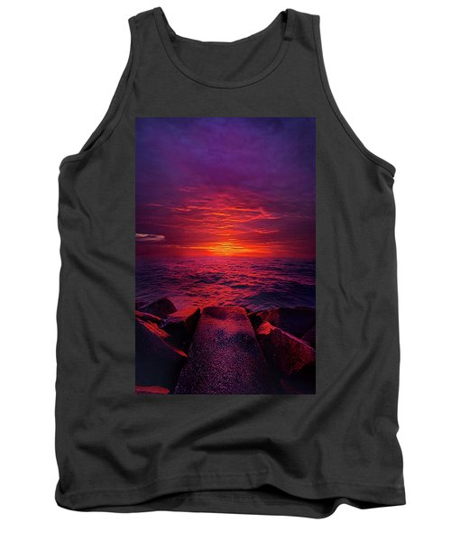 Tank Top featuring the photograph The Path by Phil Koch