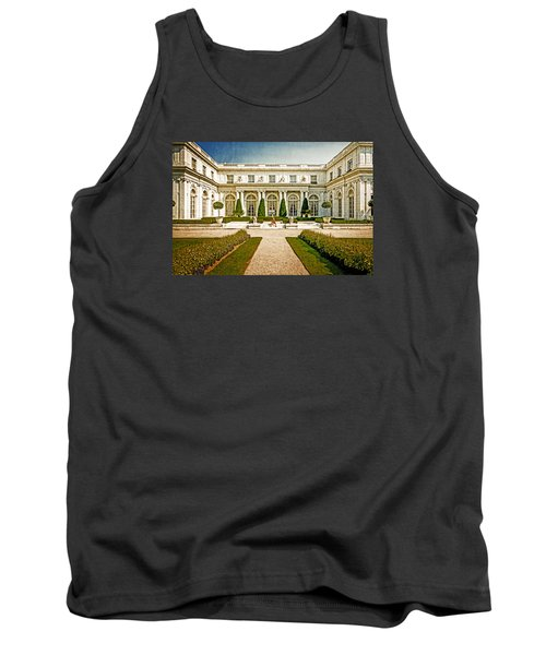 Tank Top featuring the photograph The Rosecliff by Sabine Edrissi
