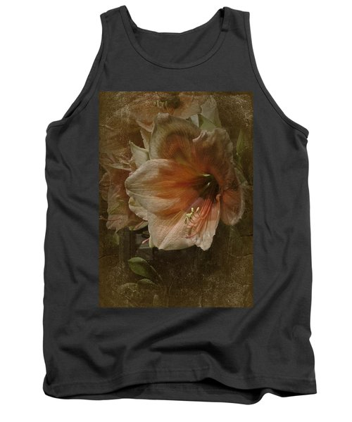 Tank Top featuring the photograph Vintage Amaryllis by Richard Cummings