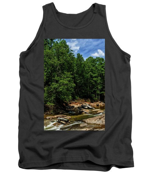 Tank Top featuring the photograph Williams River After The Flood by Thomas R Fletcher