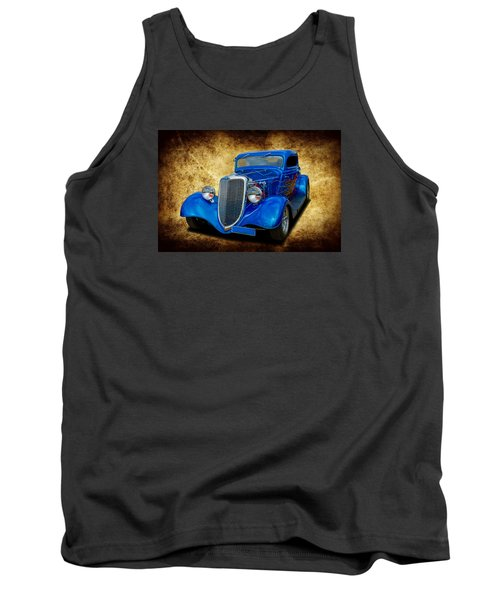 Tank Top featuring the photograph 34 Coupe by Keith Hawley