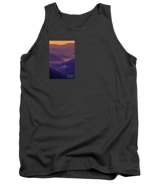 Allegheny Mountain Sunrise Tank Top by Thomas R Fletcher