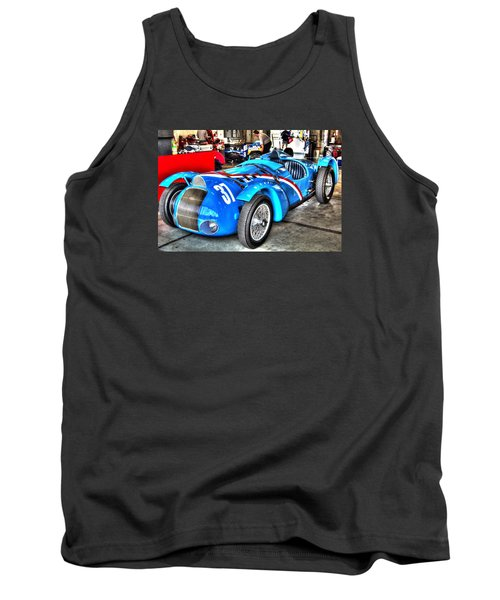 Delahaye Fast From The Front Tank Top by Josh Williams