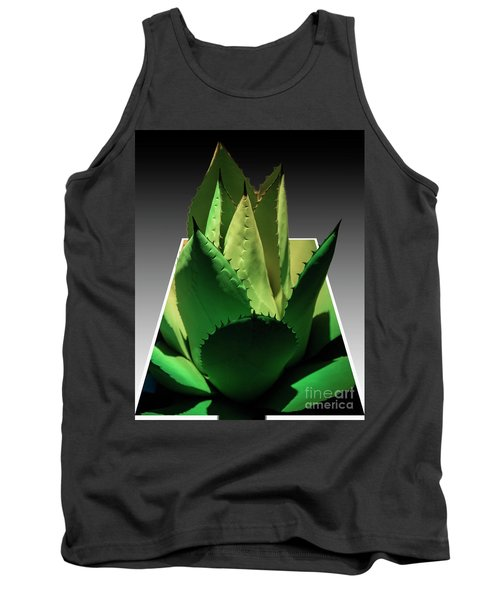 Tank Top featuring the photograph 3d Cactus by Darleen Stry