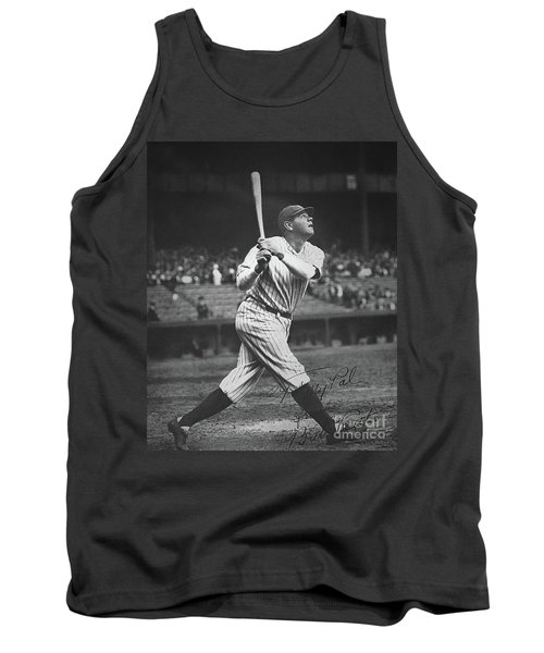 Babe Ruth  Tank Top by American School
