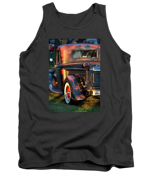 Classic Ford Pickup Tank Top by Dean Ferreira