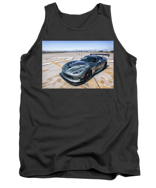 Tank Top featuring the photograph #dodge #acr #viper by ItzKirb Photography