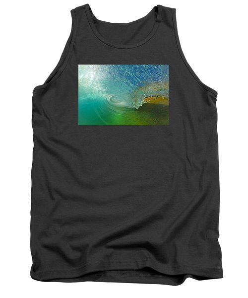 In The Tube Tank Top by James Roemmling