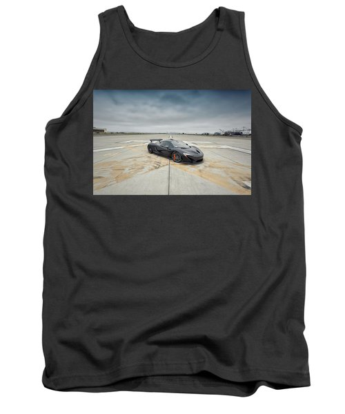 Tank Top featuring the photograph #mclaren #mso #p1 by ItzKirb Photography